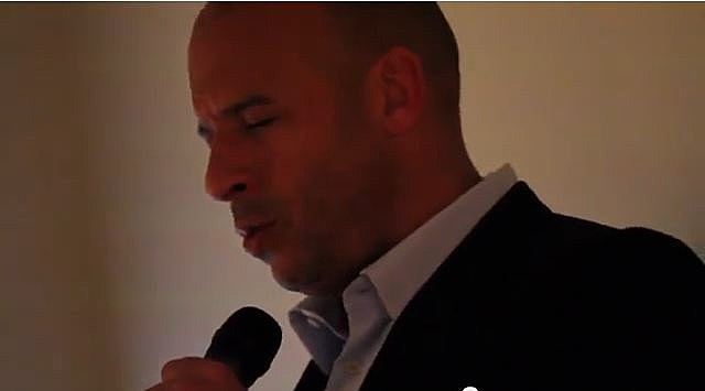 Vin Diesel covers Rihanna's 'Stay'