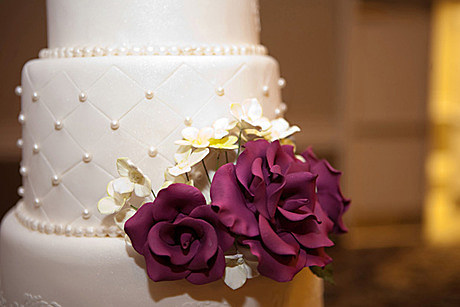 WeddingCakePurpleFlowerResized